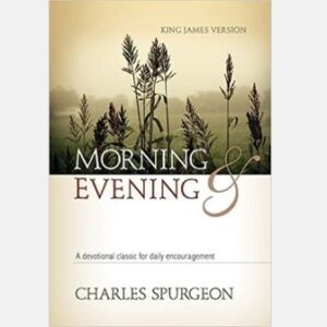 Charles Spurgeon Morning & Evening Cover