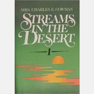 Mrs. Charles Cowman Streams In The Desert Cover